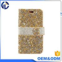 2017 china phone diamond cover case manufacturer leather cell phone case for iphone 7 6
