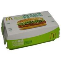 Buy cheap Hamburger Box from Wholesalers