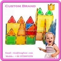 China Plastic Magnetic Building Blocks for Kids on sale