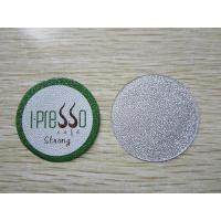 Buy cheap Embossed 37.0mm nespresso cup and foil lid from Wholesalers