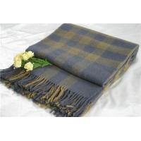 Buy cheap Wool Blankets Plaid from Wholesalers