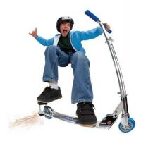 Quality Scooters Razor Spark Scooter (Blue) for sale