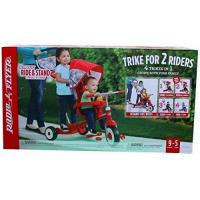 """Quality Kids Tricycles Radio Flyer Deluxe Ride & Stand Stroll 'N Trike, Red, 41"""" x 24"""" x 39"""" for sale"""