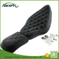 China Two up Diamond Stitch Driver Front Rear Passenger Seat For Harley Sportster XL883 1200 48 72 on sale