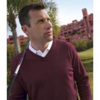 China Sports Teams and Societies Glenmuir Lomond V Neck Lambswool Sweater on sale