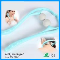 China New Cheapest Manual Squeeze Adjustable Germa Neck Kneading Massager on sale
