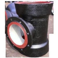 Buy cheap Ductile Iron Double Socket Tee With Flanged Branch from wholesalers