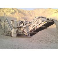 Quality Tracked Mobile Reaction Crushing Station for sale