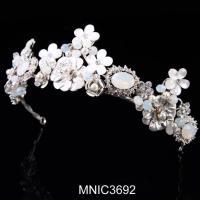 Quality High Quality Zircon With Pearl Bridal Wedding Headpiece Jewelry for sale