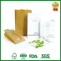 Buy cheap Custom Printed Paper Bag For Food Packing Take Out from Wholesalers
