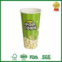 Quality Large Custom Personalized Movie Paper Popcorn Bucket Container Take Out for sale