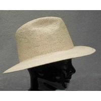 China PANAMA HATS AND STRAW HATS Panama Packable Rollup Fedora Hat on sale