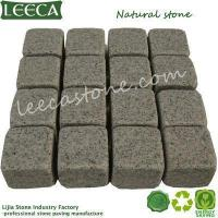 Quality LEECA Stone cube mats natural cobbles for sale