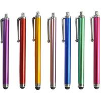 Quality Cell Phone Accessories Hieha 10x Metal Universal Capacitive pen Stylus Touch Pens for iphone for sale