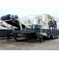 Quality Tire Mobile Jaw Crushing Station for sale