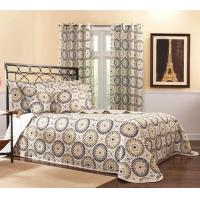 Quality Bedspreads Melina Bedspreads - Charcoal for sale