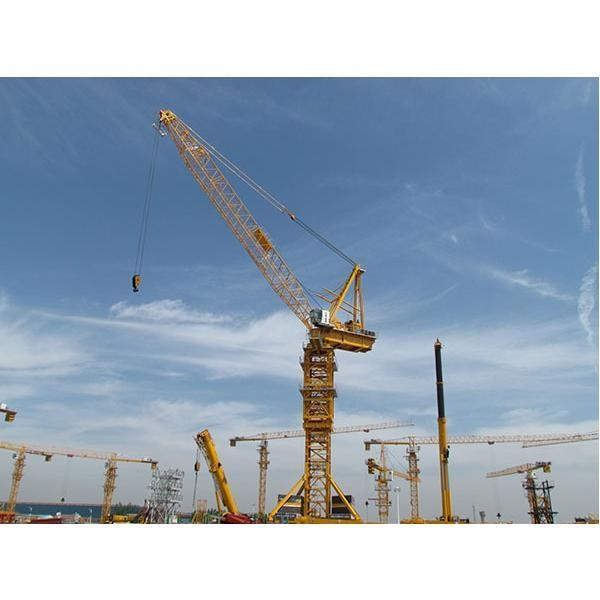 Tower Crane Manufacturer : Fzq z t luffing jib crane from china tower