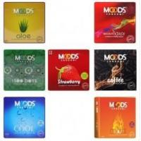 Quality Ribbed Condoms Moods Premium Combo 2 (21 Packs of 3s) for sale
