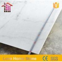 Quality Italy White Carrara Marble Slabs and Tiles for Bathroom for Sale for sale