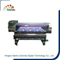 Quality 1600mm width Belt type digital textile printer with DX5 head for sale