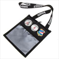Buy cheap Lanyards Wholesales black multi pocket credential wallet holder Return on a page from wholesalers