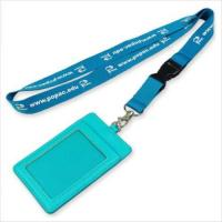 Buy cheap Lanyards Name badge holder lanyards wholesales custom Return on a page from wholesalers