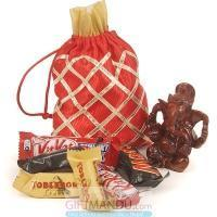 Quality 18 Miniature Chocolates With Lord Ganesh Statue for sale