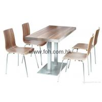 Quality Imported quality wood finish cafe restaurant furniture for sale