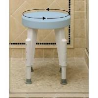 Quality Getting Ready Home Rotating Round Shower Seat for sale