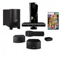 China Microsoft Xbox360 4GB Console w/ Kinect & Bose HT on sale