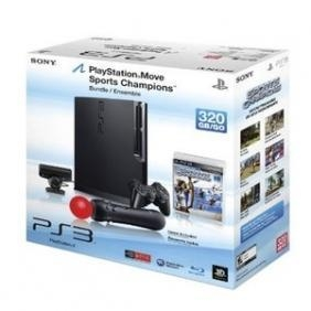 Buy PlayStation Move 320 GB console bundle at wholesale prices
