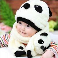 Quality 2016 Children's Baby Panda Hat (Cap+Scarf) for sale