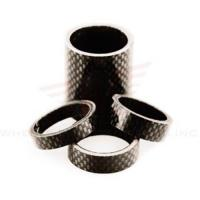 China Wheels Manufacturing 1-1/8-inch Carbon Spacer (bag Of 5), 2.5mm on sale