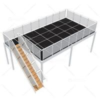 Quality 4m x 9m Two Level Exhibition Booths for sale
