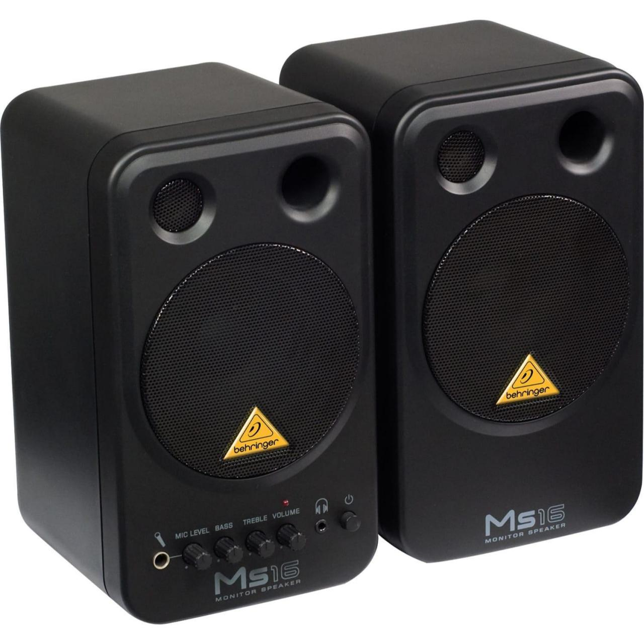 Buy cheap Recording Behringer MS16 2-Way Active Studio Monitor Speaker Pair from wholesalers