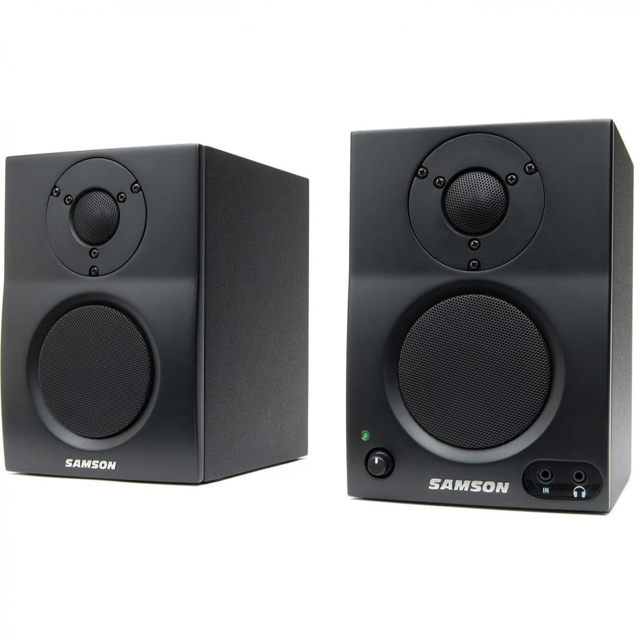Quality Recording Samson MediaOne BT3 Active Studio Monitors (Pair) for sale