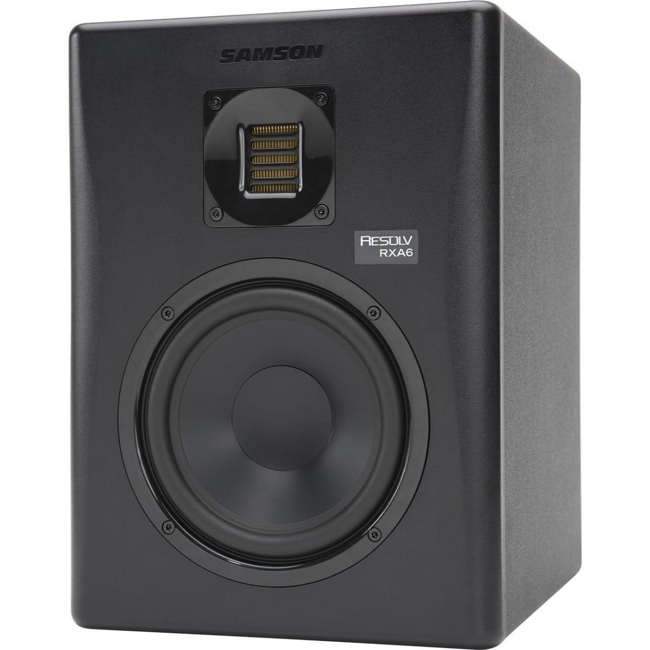 Quality Recording Samson Resolv RXA6 2-Way Active Studio Reference Monitor for sale