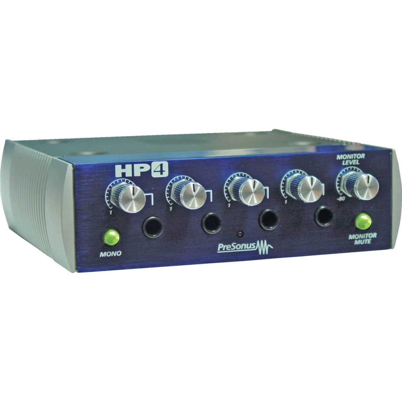 Quality Recording PreSonus HP4 4-Channel Headphone Amplifier for sale