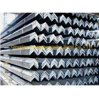 Quality Q235, Q345 Galvanized Steel JIS Equal Steel Angle Bar for sale