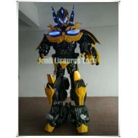 Quality Custom Homemade 2.5m Transformers Superhero Robot Diy Bumble bee Cosplay Halloween Suit for sale