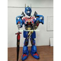 Quality Halloween Costumes and Decorations Transformers Optimus Prime Armor Robot costume for Party for sale