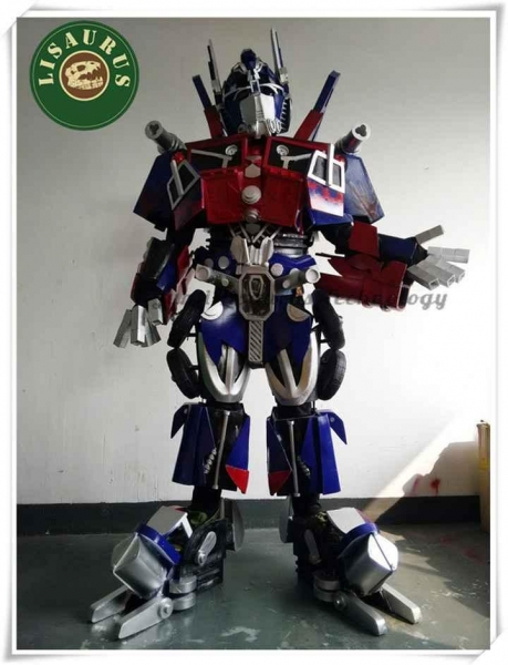 Buy Cosplay 3D Deluxe Optimus Prime Transformers Movie Superhero Suit for Men at wholesale prices