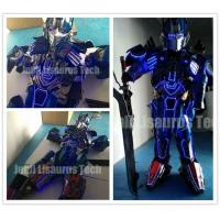 Quality Led Lights Halloween Costume Adult Authentic Optimus Prime Costume for sale