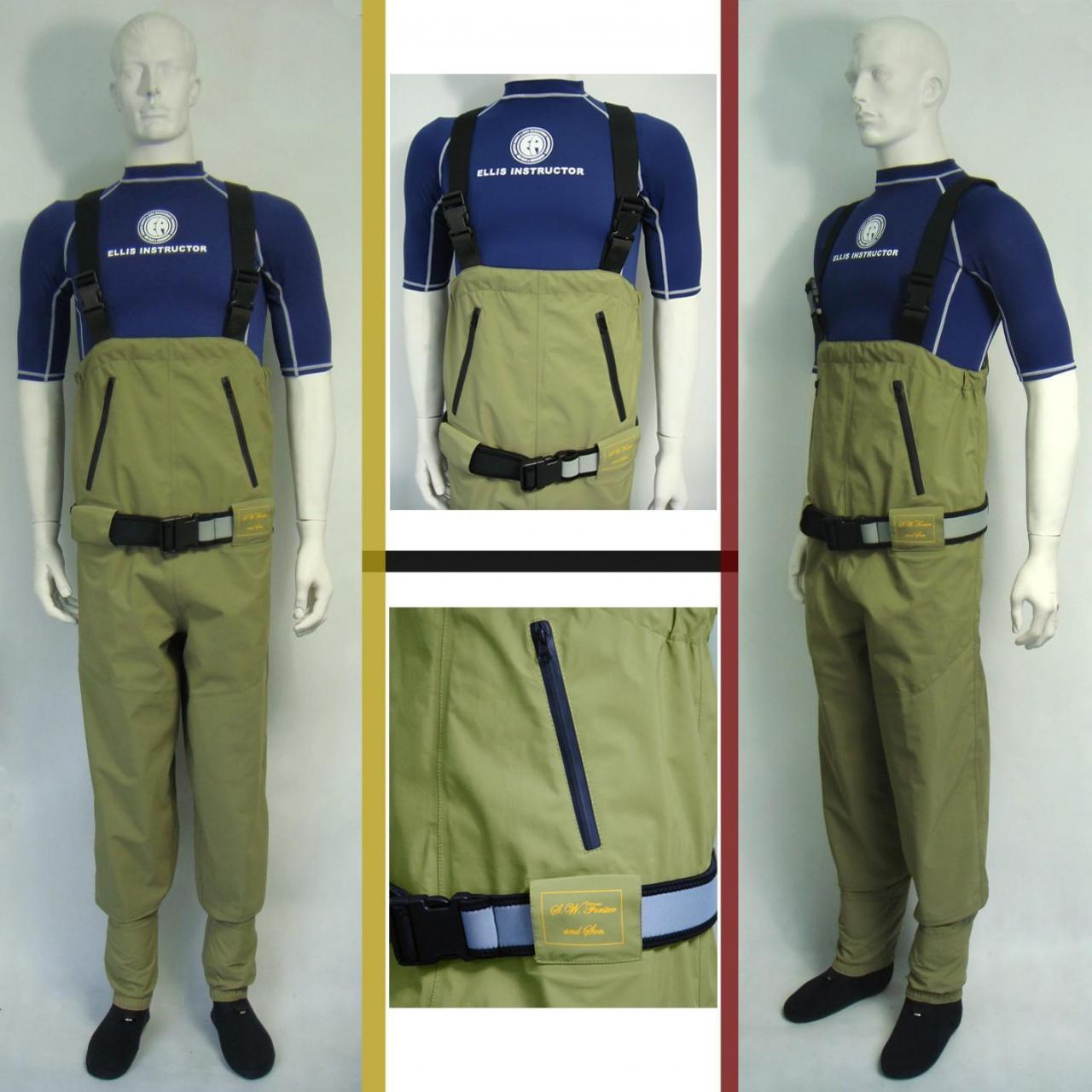 Quality breathable chest fishing wader - HW04 for sale