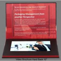 Quality 10 inches Video Brochures Invitation Cards for sale