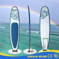 Quality New Design Red Yellow ISUP Inflatable Stand Up Paddle Board for sale