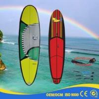Quality Wooden Bamboo Fiberglass Carbon Colorful SUP Surfboard FCS Fusion Future Fins for sale