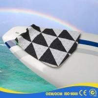 Quality Balck Carbon Fiber Net Wax Fiberglass Surfboard with Painting for sale