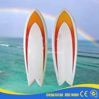 Quality Fiberglass Blank or Colorful Painting Short Fish Board for sale