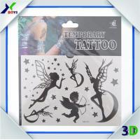 Promotional Custom Logo Printed Non-toxic temporary tattoo sticker For Decoration